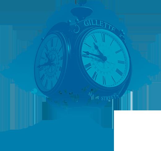 FNB of Gillette Clock Tree Image